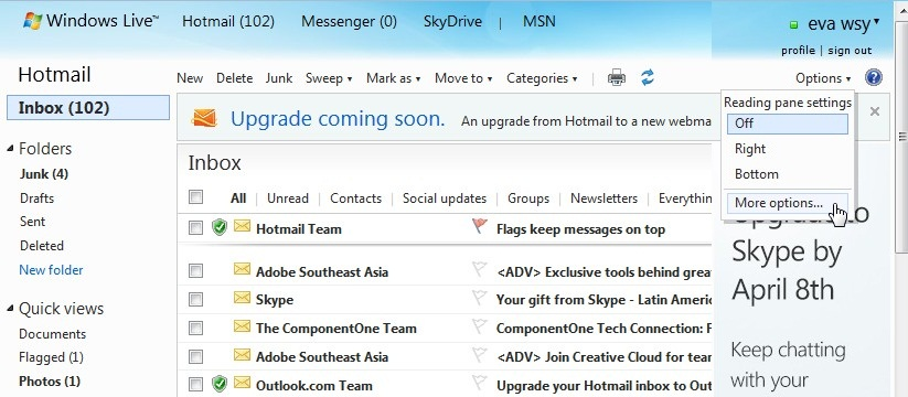 how to add safe senders to outlook webmail